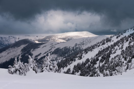 Snowstorm approaching