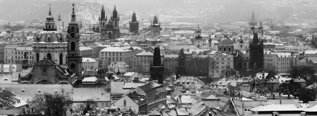 Prague drowned in time